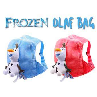 Harga Frozen Olaf Cute Bag (Red)