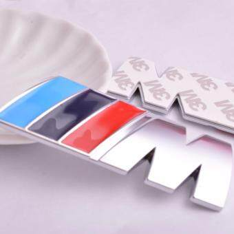 Harga Car Styling 2Pcs Solid Car Sticker 3M Series Logo Emblem Badge Chrom Decal 1 3 4 5 6 7 E Z X M2 M3 M4 M5 M6 Mline For BMW M