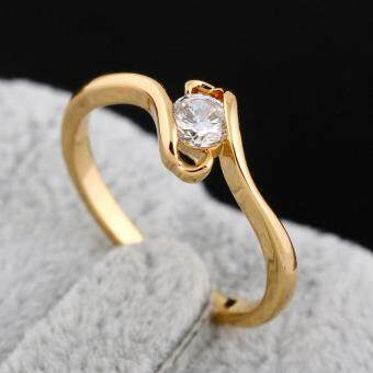 Harga ady Zircon 18K God Pated Ring