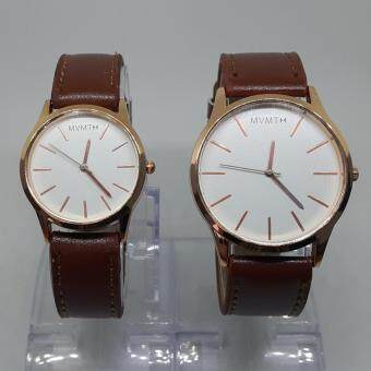 Harga Watches (COUPLE SET) Watches New Fashion (White Face) - Ready Stock, Fast Delivery!!!