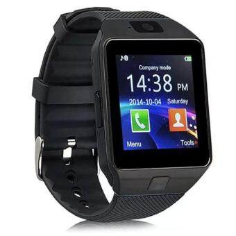 Harga DZ09 Smart Watch Bluetooth Touch Screen for Android and iOS (black)