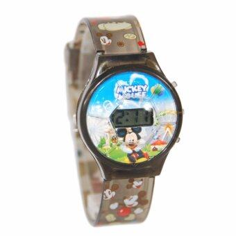 Harga Mickey Mouse Digital Sport Watch (Black)