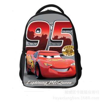 Harga Car Mobilization Lightning McQueen Children's Shoulder Bag