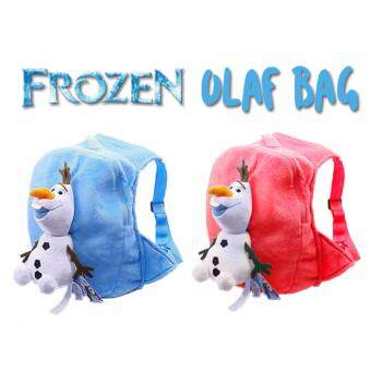 Harga Frozen Olaf Cute Bag (Blue)