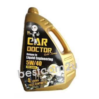 Harga Car Doctor Fully-Synthetic Lubricant 5W-40 Engine Oil - 4 litres