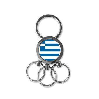 Harga Greece National Flag Europe Country Symbol Mark Pattern Metal Key Chain Ring Car Keychain Creative Trinket Keyring Novelty Item Best Charm Gift