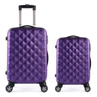 Harga Travel Star SD Series 2 in 1 Luggage Set (Purple)