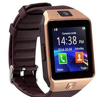 Harga Smart watch card phone Bluetooth call DZ09 fashion support multi language
