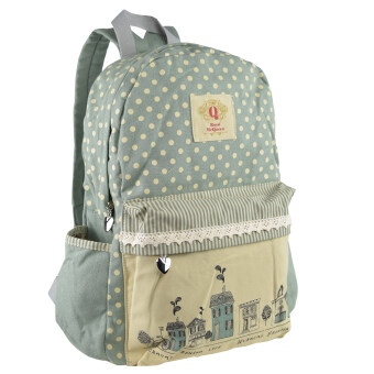 Harga Royal McQueen Korean Stylish Casual Backpack QBP645 BLUE