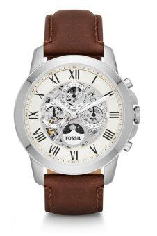 Harga Fossil ME3027 Grant Automatic Brown Leather Watch