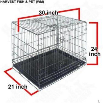 Harga Petzoo Pet D305 1-Level Pet Cage (30 Inch x 21 Inch x 24 Inch)