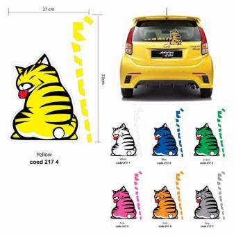 Harga Car Sticker (Cat Series)
