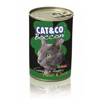 Harga Adragna Cat & Co Chunks Rabbit & Duck 24 cans X 400gm