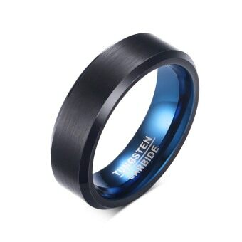 Harga Men's Fashion Rings Tungsten Steel