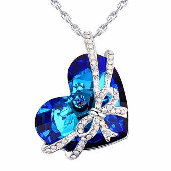 Harga LOVENGIFTS Exclusive Collection Swarovski Gift Pendant Necklace
