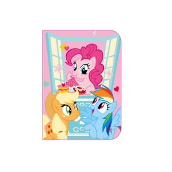 Harga My Little Pony Passport Holder - Light Pink Colour