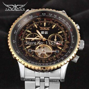 Harga Man Automatic Self Wind Military Sport Wristwatch Hot Gift JARGAR Male Stylish Mechanical Watch - Intl