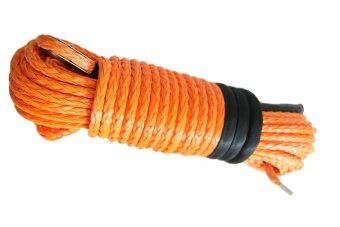 Harga Orange12mm*30m Plasma Winch Cable,4X4 Winch Rope Extension ,ATV Winch Line,Off Rope Rope