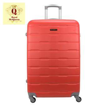 "Harga [25 units. While stocks last]Royal McQueen 4 Wheels Spinner 20 "" Light Weight Hard Case Luggage QTH 6910 - RED"