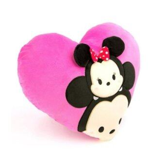 Harga Disney Tsum Tsum Heart Cushion - Mickey & Minnie