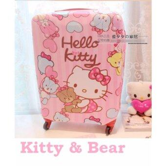 Harga 20-22 Inch Kitty & Bear Luggage Protector S Size