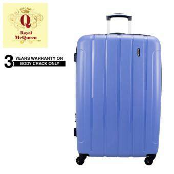 Harga Royal McQueen QTH 6907 Polypropylene 4 WheelsSpinnner 28 Hard Case Luggage Purple""