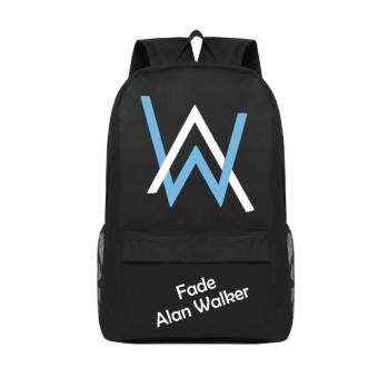 Harga Alan Walker Faded Trendy Top Quality Women Canvans Backpack Bag Just for Alan Walker Fans