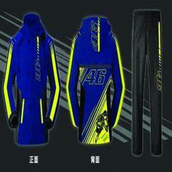 Harga (IMPORT) High Quality Valentino Rossi Limited Edition RaincoatPants Set (XL)