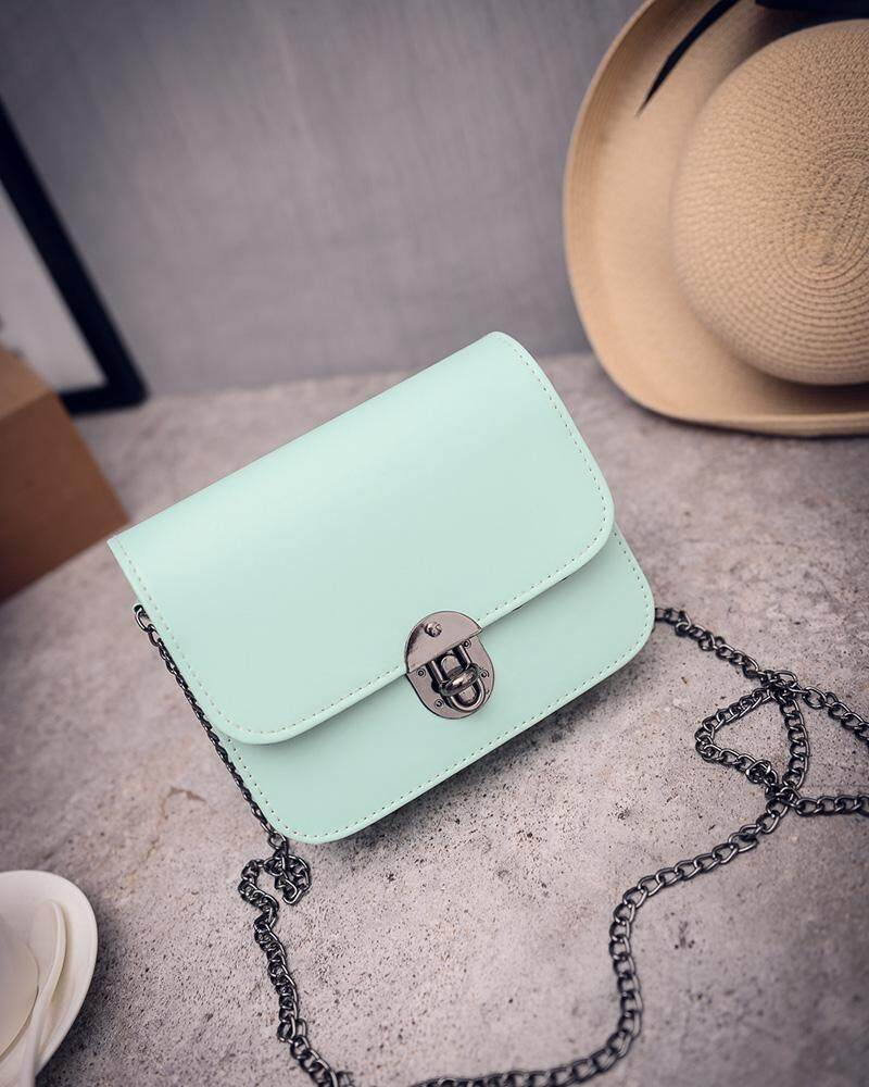 WEST HUA (Imported)BEST-FJYF Korea Long Purse Candy Color Handbag Leather Tote Bag Cross Body Shoulder Bags Women Fashion Lady - intl