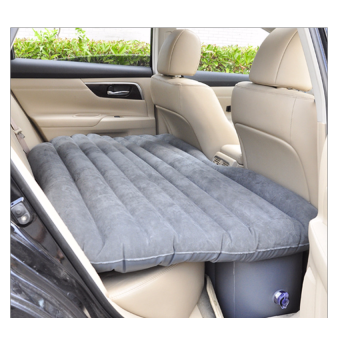 Harga Inflatable Car Bed Car Mattress for Backseat (Grey)