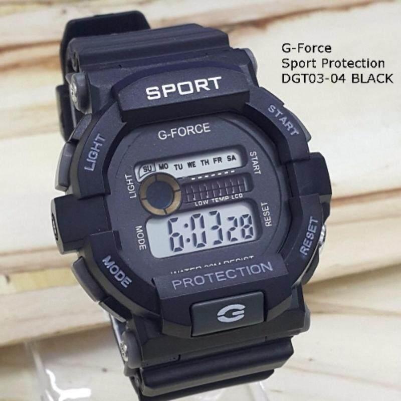 Jam Single Time Color G Force GF999DGT03 Series Malaysia