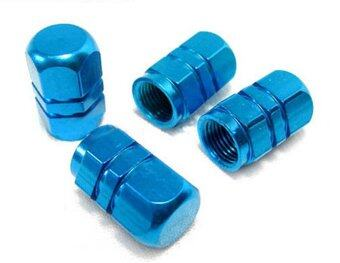 Harga Jetting Buy Hexagonal Alloy Dust Valve Caps for Mazda 2 3 5 6MX5/RX7/RX8/MPS/CX7/MX6 4 Pieces (Blue)