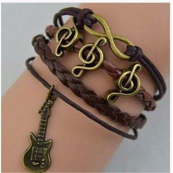 JinGle NEW Hot Jewelry fashion lots Style Leather Cute CharmBracelet U pick Style