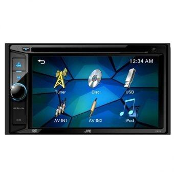 Harga JVC KW-V12 CD + MP3 + USB + DVD receiver with LCD display