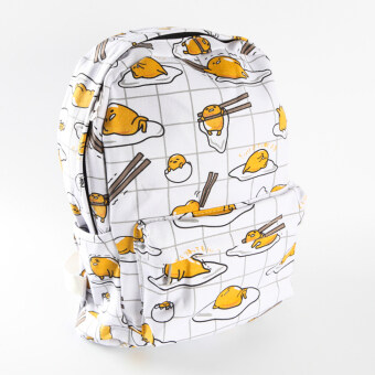 Harga Lazy Egg Bag gudetama yolk's egg's canvas backpack casual travelbag