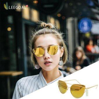 leegoal Fashion Women Sunglasses Sunscreen Anti-UV Color Film Sunglasses   bd285c05b4