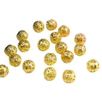 leegoal Filligree Hollow Ball Rondelle Metal Beads