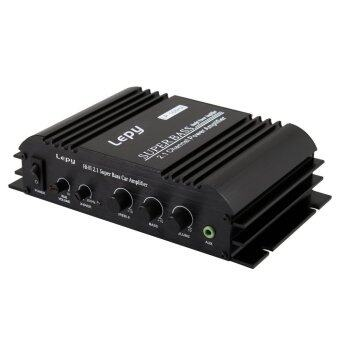 Lepy 168HA 2.1CH Channel 2x40W + 1x68W Sub Output Super Bass AudioDigital Hifi Amplifier Color Black (Power Supply Cable notIncluded)