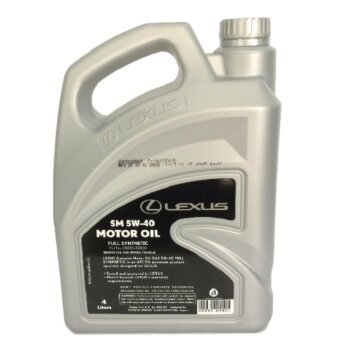 LEXUS 5W40 Fully Synthetic Engine Oil 4L