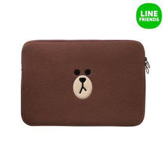 LINE FRIENDS LAPTOP SLEEVE 13INCH_BROWN