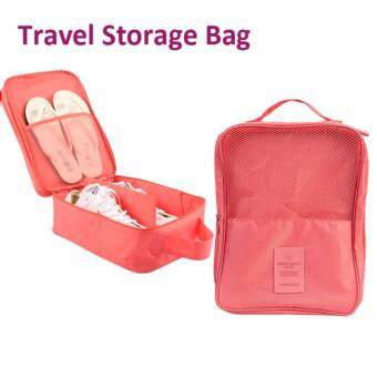 Harga LOCAUPIN Portable Travel Shoes Storage Bag
