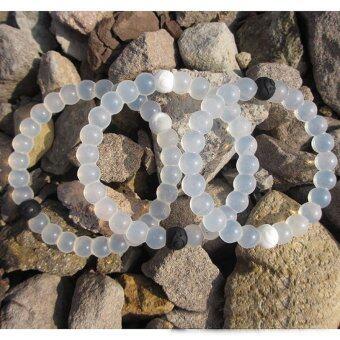 Lokai Bracelet White 4 Sizes - 2