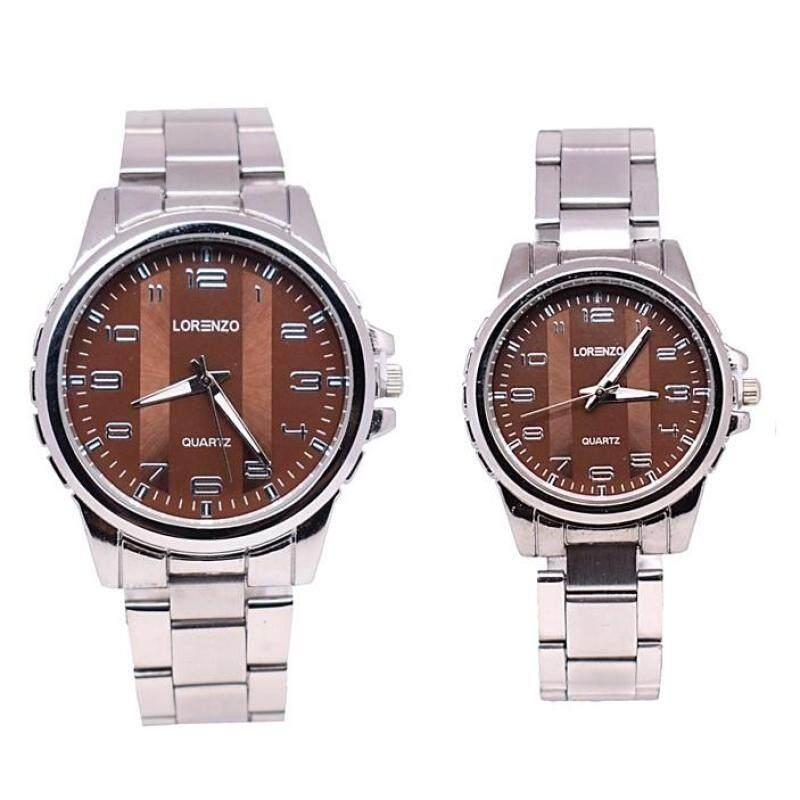 Lorenzo Couple Set Watch 2pcs (LRZSL01-0910) Malaysia