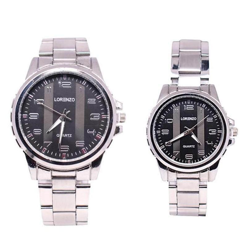 Lorenzo Deluxe Couple Set Watch 2pcs (LRZSL01-1112) Malaysia