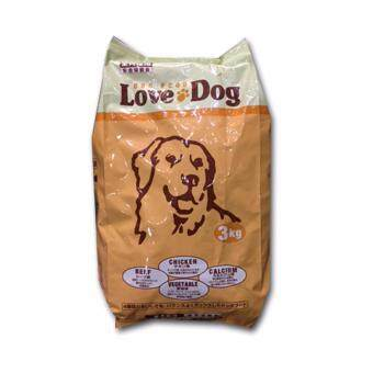 Harga Love Dog dog food (3kg)