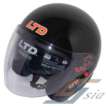 Harga LTD Infinity Double Visor Helmet (Black)