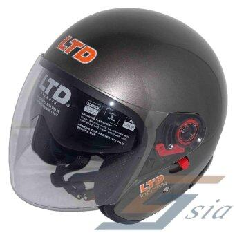 Harga LTD Infinity Double Visor Helmet (Grey)