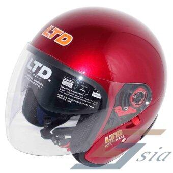 Harga LTD Infinity Double Visor Helmet (Red)