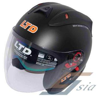 Harga LTD Infinity RAM Double Visor Helmet (Matt Black)