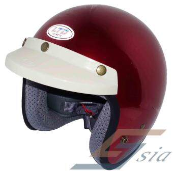 Harga LTD Polycarbonate Racing Spirit Helmet (Gold Red)